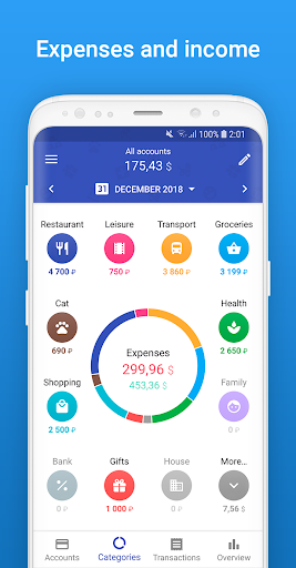 1Money – Expense Tracker Money Manager Budget preview 2
