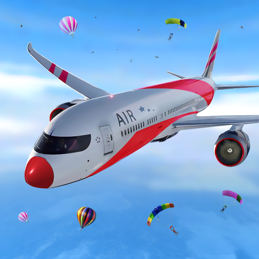 Airplane Simulator 2018 logo
