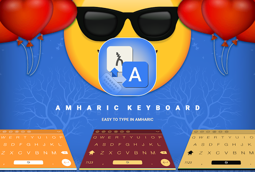 Amharic Keyboard Easy Amharic Typing 1.2 preview 1