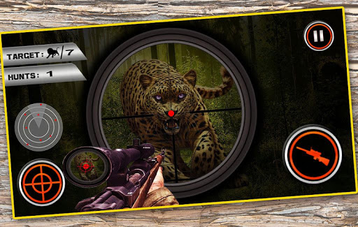 Animal Hunting Game Wolf in Safari Jungle 2.0 preview 1