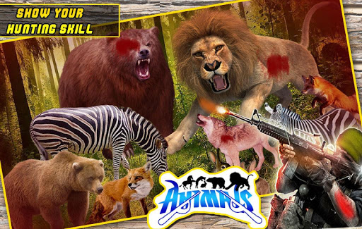 Animal Hunting Game Wolf in Safari Jungle 2.0 preview 2