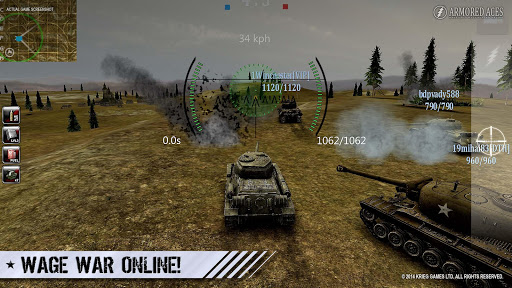 Armored Aces – Tanks in the World War 3.1.0 preview 1