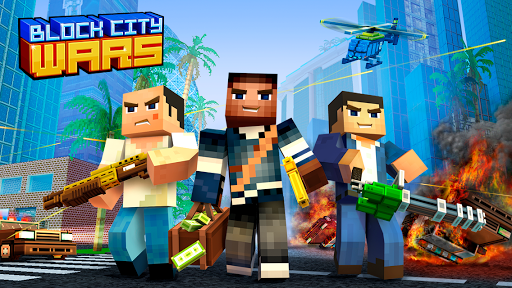 Block City Wars Pixel Shooter with Battle Royale 7.1.4 preview 1