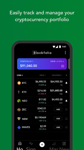 Blockfolio – Bitcoin and Cryptocurrency Tracker 2.4.0 preview 1