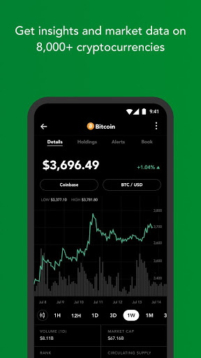 Blockfolio – Bitcoin and Cryptocurrency Tracker 2.4.0 preview 2