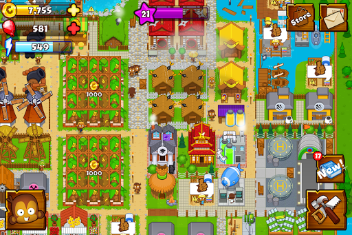 Bloons Monkey City 1.11.4 preview 1