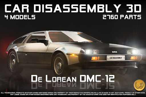 Car Disassembly 3D 3.4.0 preview 2