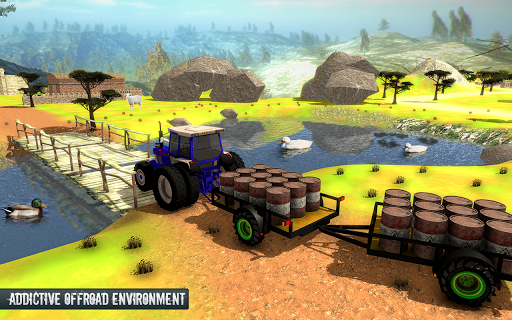 Cargo Tractor Trolley Simulator Farming Game 2019 1.0 preview 1