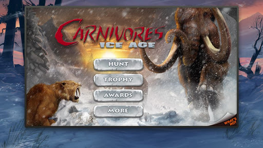 Carnivores Ice Age 1.8.6 preview 1