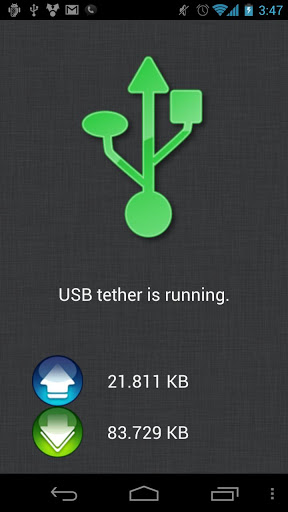 ClockworkMod Tether no root 1.0.1.9 preview 2