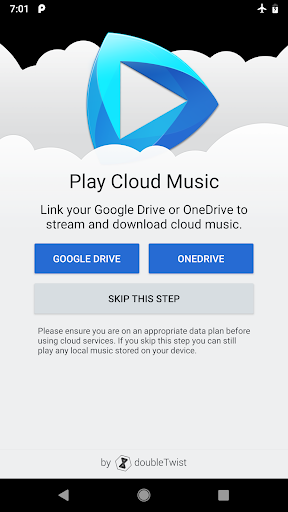 CloudPlayer by doubleTwist cloud amp offline player 1.7.9 preview 1