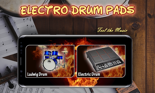 Electro Drum Pads 48 – Real Electro Music Drum Pad 1.1 preview 1