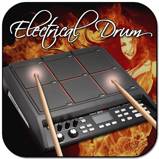 Electro Drum Pads 48 - Real Electro Music Drum Pad logo