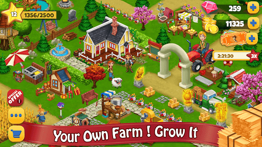 Farm Day Village Farming Offline Games 1.2.15 preview 1