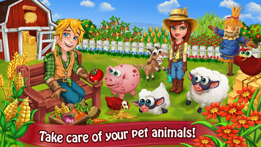 Farm Day Village Farming Offline Games 1.2.15 preview 2