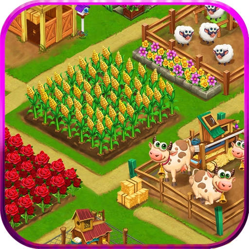 Farm Day Village Farming: Offline Games logo