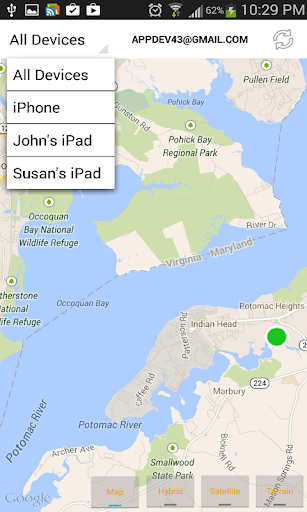 Find iPhone Android Devices xfi Locator Lite 1.9.6 preview 2