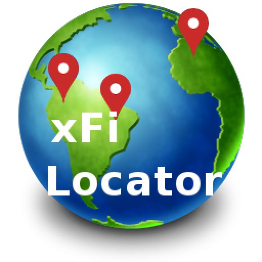 Find iPhone, Android Devices, xfi Locator Lite logo