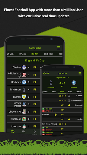 Footylight – Football Highligths amp Livescore 5.6.7 preview 1
