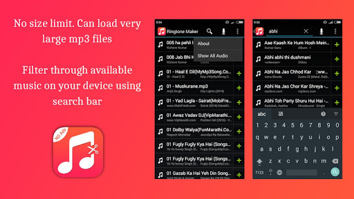 Free Ringtone Cutter and Ringtone Maker 0.1 preview 2