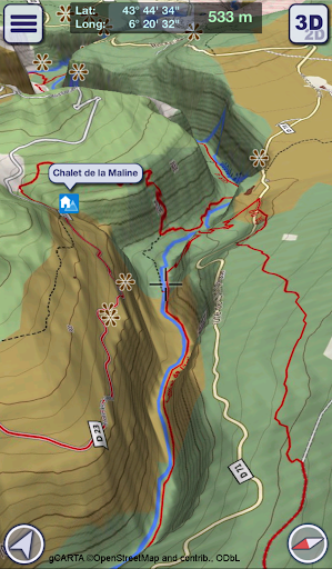 GeoFlyer Europe 3D – Offline Maps GPS Routing 2.2.1 preview 2
