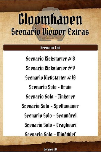 Gloomhaven Scenario Viewer Extras 1.3 preview 1