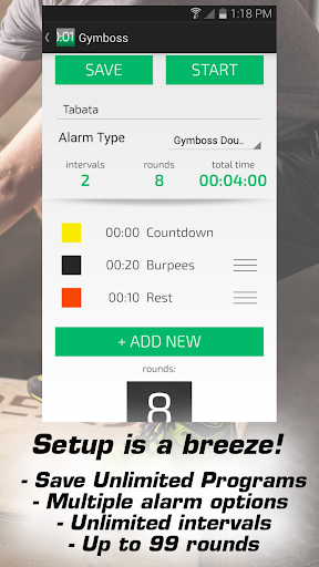 Gymboss Interval Timer 1.1.10 preview 1