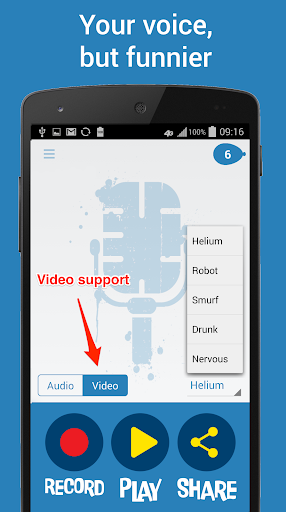 Helium Voice Changer 3.0.2 preview 2