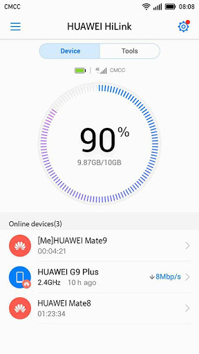 Huawei HiLink Mobile WiFi 9.0.1.303 preview 1