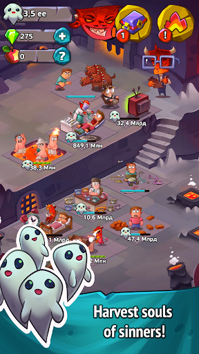 Idle Heroes of Hell – Clicker amp Simulator 1.5.6 preview 2