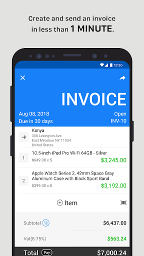 Invoice Maker – Tiny Invoice 4.0.1 preview 2