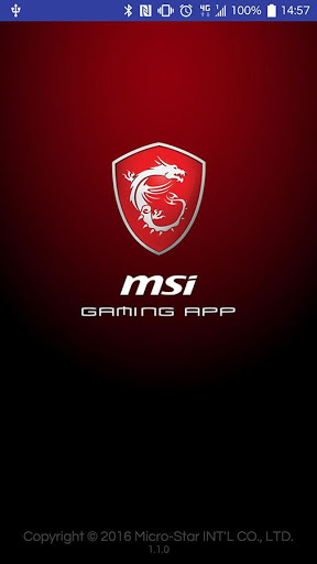 MSI GAMING APP 1.1.0 preview 1