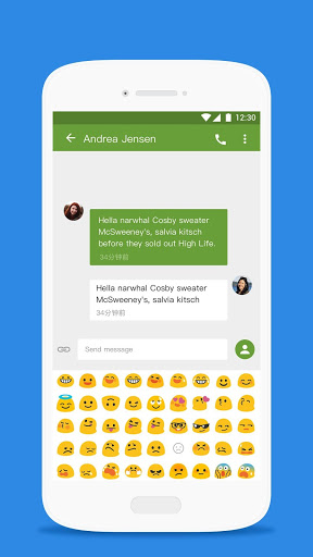 Messages Emoji – Samsung style 1.0 preview 2
