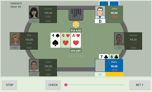 Offline Poker with AI PokerAlfie – Pro Poker 2.3 preview 2