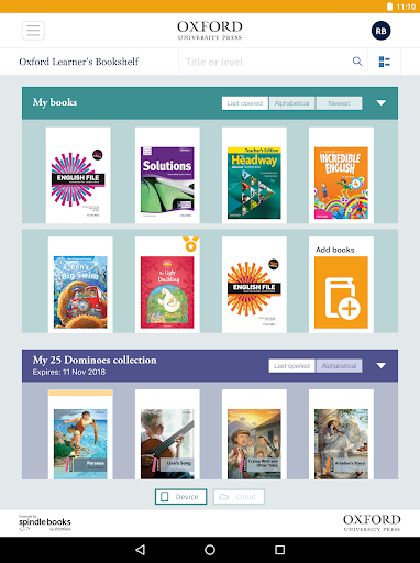 Oxford Learners Bookshelf 5.4.1 preview 1