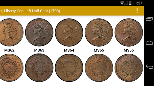 PCGS Photograde – US Coin Grading with Images 3.2.0 preview 1