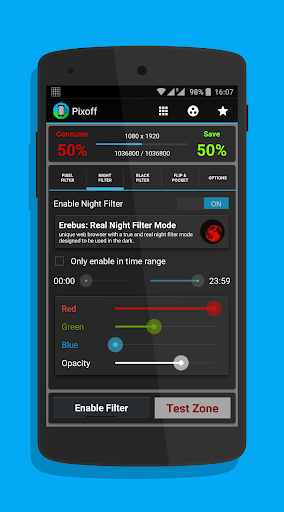 Pixoff Battery Saver 4.8.5 preview 2