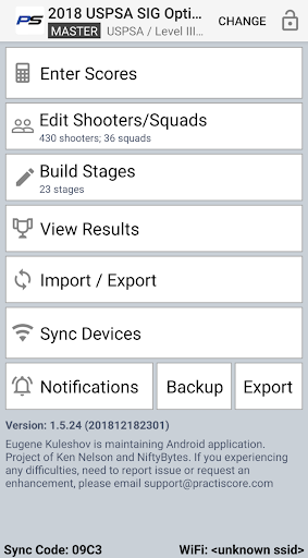 PractiScore 1.6.23 preview 1