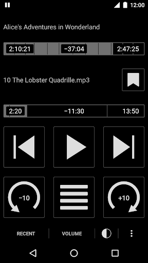 Simple Audiobook Player Free 1.6.5 preview 1