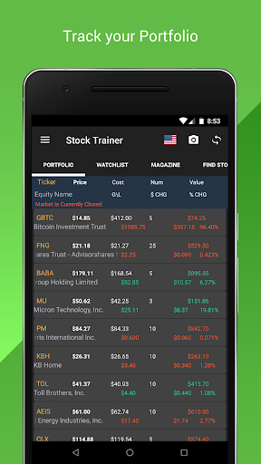 Stock Trainer Virtual Trading Stock Markets preview 1