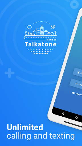 Talkatone Free Texts Calls amp Phone Number 6.3.8 preview 1