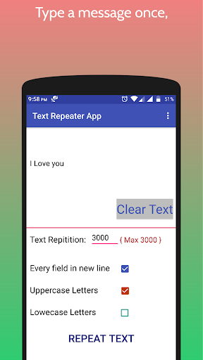 Text Repeater 2.0 preview 2