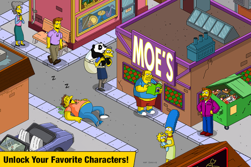 The Simpsons Tapped Out 4.39.0 preview 2