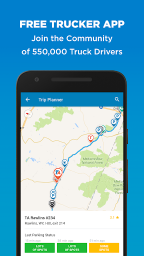 Trucker Path Truck Stops amp Weigh Stations 3.5.7 preview 1