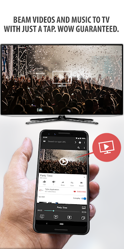 Tubio – Cast Web Videos to TV Chromecast Airplay 2.40 preview 1