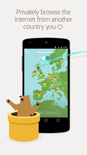 TunnelBear VPN v169 preview 1