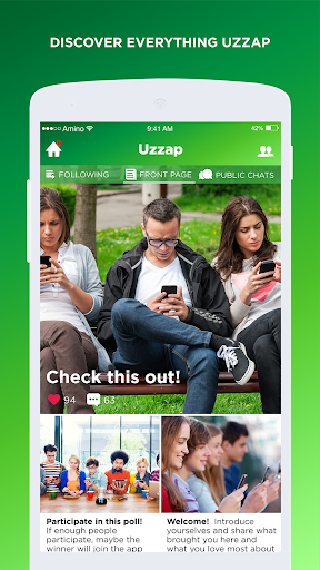 Uzzap Amino for Pinoy Chat 2.3.28023 preview 1
