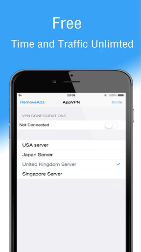 VPN Unlimited Proxy AppVPN 2.48 preview 2