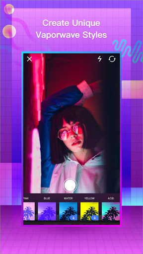 VaporCam-Vintage Camera Vaporwave Profile Picture 1.9.4 preview 1