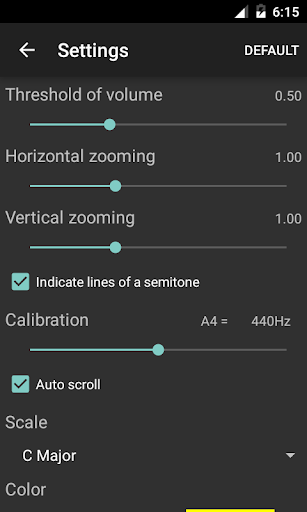 Vocal Pitch Monitor 1.5.1 preview 2